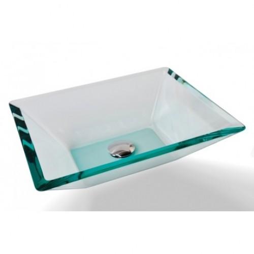 Cuba de vidro -  Prisma Incolor - Bergan