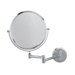 Espelho de Parede Dupla Face - Diam. 20cm com aumento de 3 vezes - Jackwal