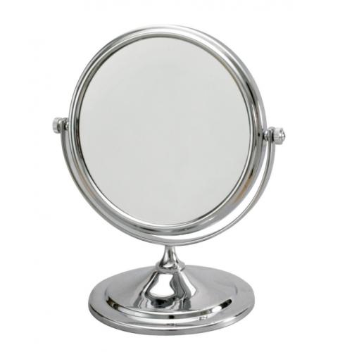 Espelho de Mesa Dupla Face - Diam. 15cm com aumento de 3 vezes - Jackwal