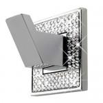Cabide Simples Diamond - Cromado Polido/ Swarovski - Zen Design