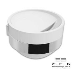 Saboneteira Fixa de Inox com acrílico - Woman  - Zen Design