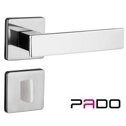 Fechadura Banheiro Quadra 40mm 701/80B CR - Pado