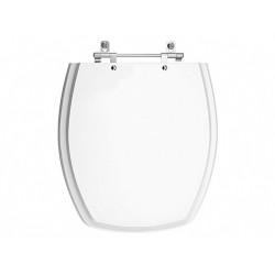 Assento sanitário Poliester Thema Branco - para Louça Incepa - PRODUZA