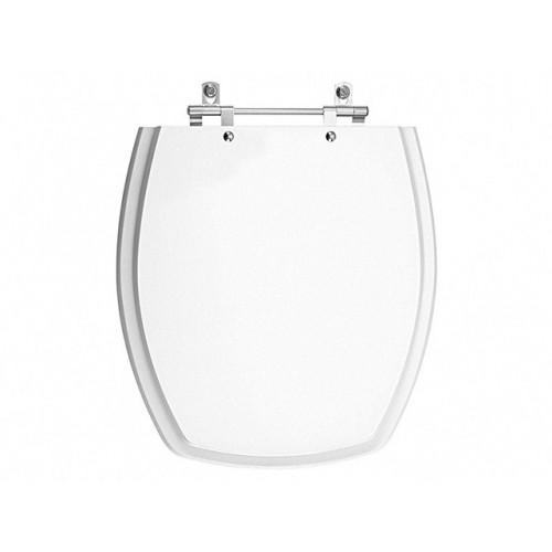 Assento sanitário Poliester Thema Branco -  Incepa - Sedile