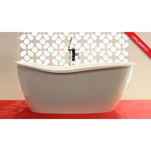 Banheira de Imersão Musa Sabbia - Branco/ Branco