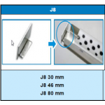 Conexão J8 - SP30 - Sekapiso - Aluminio  - Fosco