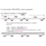 Conexão J2 - SP46 - Sekapiso - Aluminio  - Fosco
