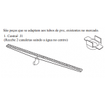 Conexão J1 - SP80 - Sekapiso - Aluminio  - Fosco