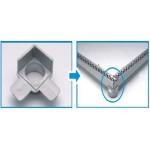 Conexão J3 - SP80 - Sekapiso - Aluminio  - Fosco