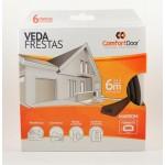 Veda Frestas D - 6mm Comfort Door - 6 metros