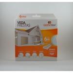 Veda Frestas D - 4mm Comfort Door - 6 metros